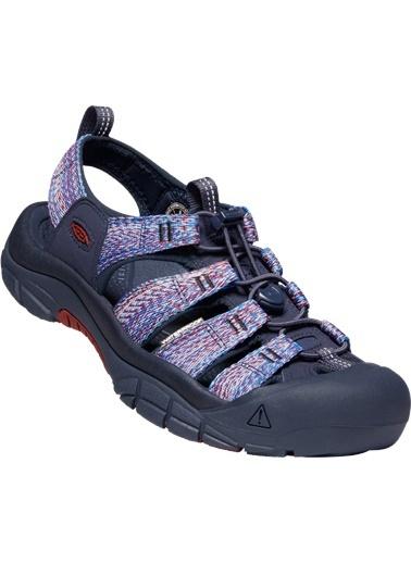 Keen Keen 1022253 Desenli Sandalet Lacivert